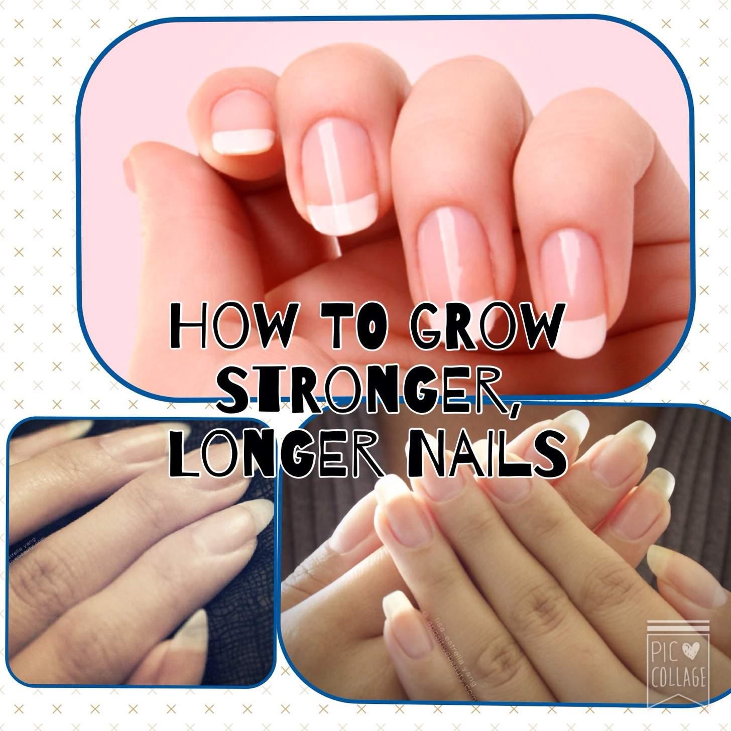 How to get stronger, longer nails? | weBlogIt
