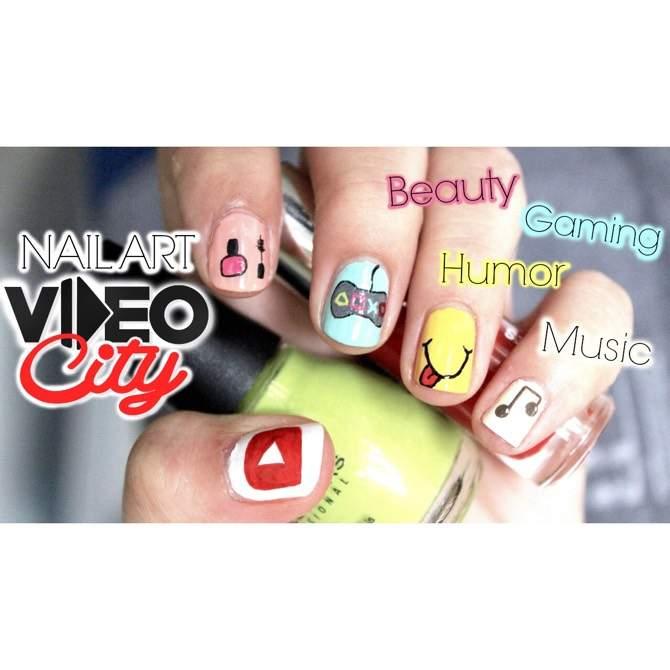 Videocity Paris Nail Art Weblogit