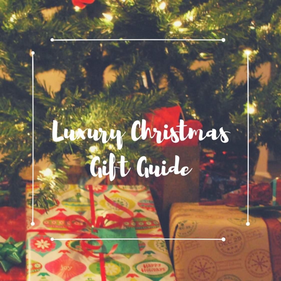Luxury Christmas Gift Guide | AGB | weBlogIt